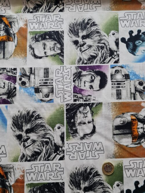 Licensed Fabrics Star Wars, Disney etc